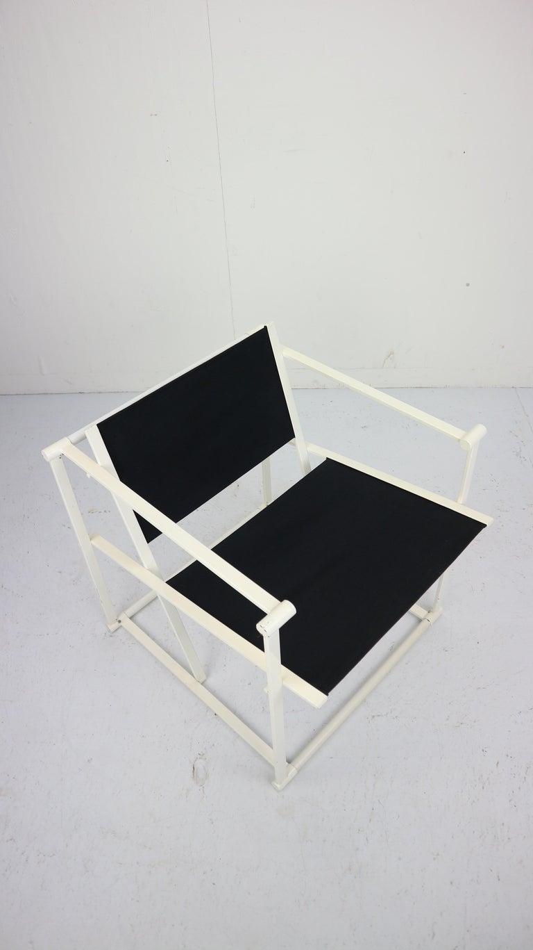Set of 2 Radboud Van Beekum Fm62 Cube Chairs for Pastoe, 1980s Dutch Design For Sale 13