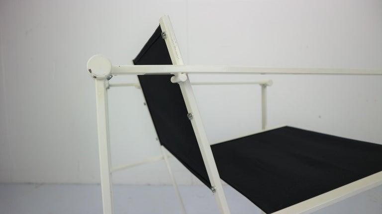 Set of 2 Radboud Van Beekum Fm62 Cube Chairs for Pastoe, 1980s Dutch Design For Sale 2