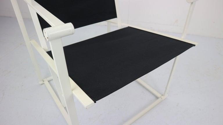Set of 2 Radboud Van Beekum Fm62 Cube Chairs for Pastoe, 1980s Dutch Design For Sale 3