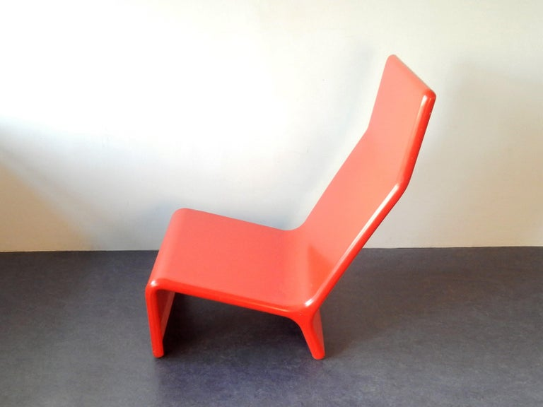 Set of 2 Rare Lounge Chairs for Cado, Denmark, 1960s In Good Condition For Sale In Steenwijk, NL