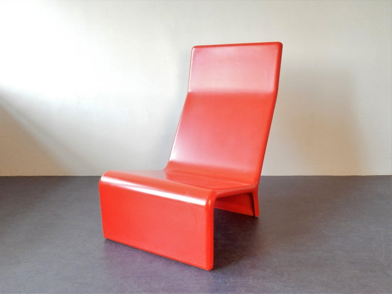 Mid-20th Century Set of 2 Rare Lounge Chairs for Cado, Denmark, 1960s For Sale
