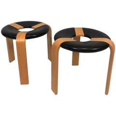 Set of 2 Rare Stools Design Rud Thygesen and Johnny Sørensen, by Magnus Olesen