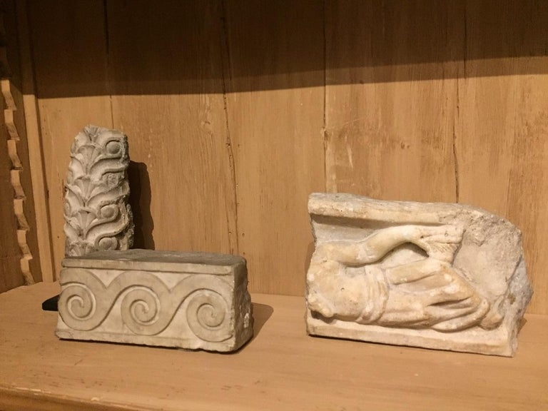 Set of 2 Roman Architectural Fragments For Sale 4