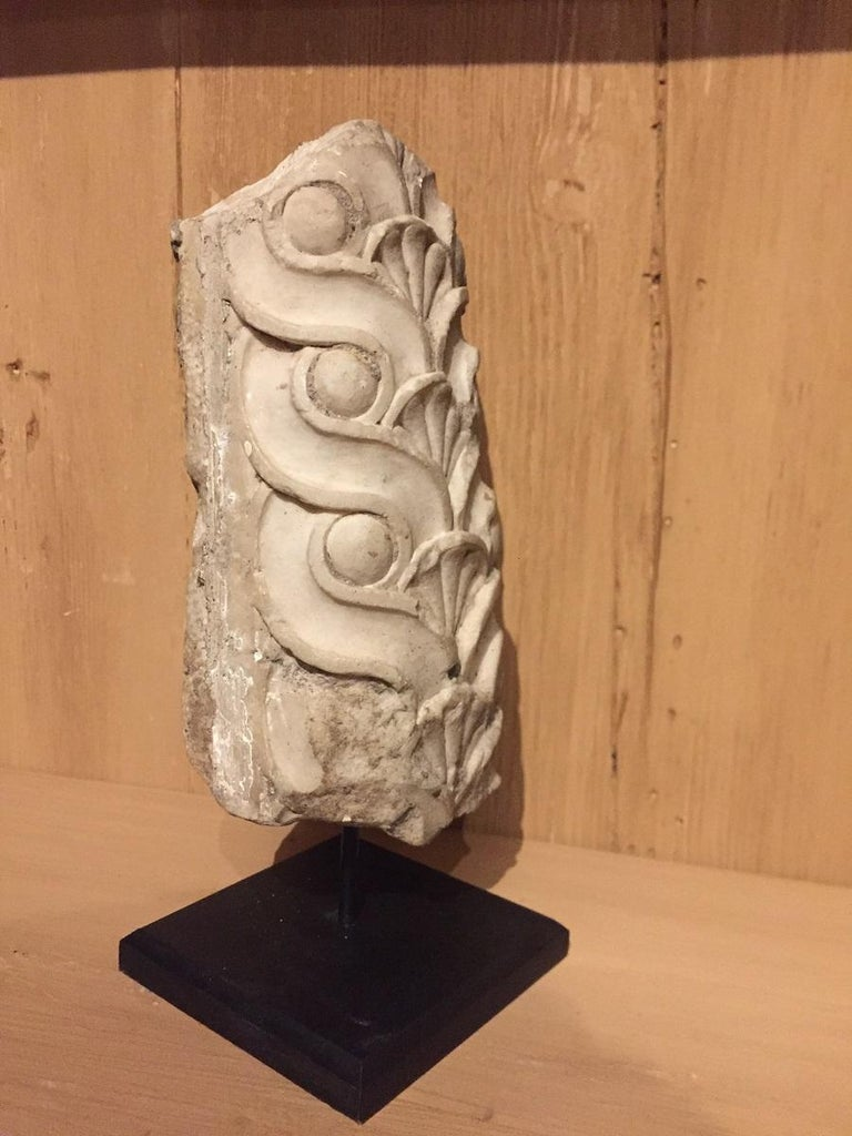 Marble Set of 2 Roman Architectural Fragments For Sale