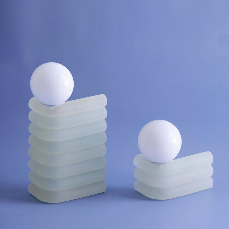 Set of 2 Small Elio Lamp by Soft-Geometry In New Condition For Sale In Geneve, CH