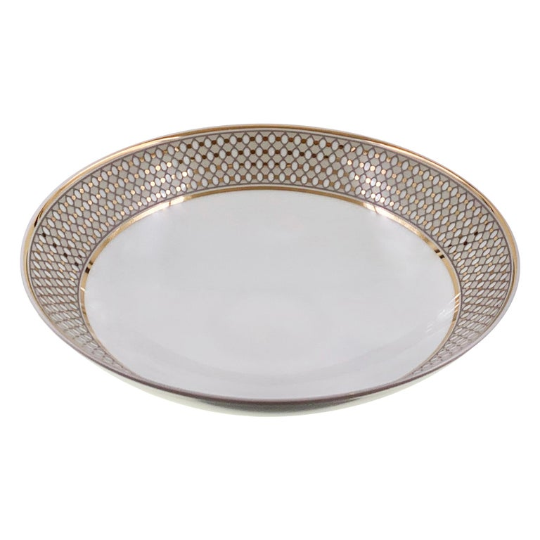 Set of 2 Soup Plate Modern Vintage André Fu Living Tableware New For Sale