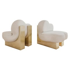 Set of 2 Splash Lounge Chair by Melis Tatlicibasi