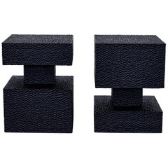 Set of 2 Square Revert Table by John Eric Byers