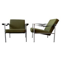 Set of 2 Easy Chairs by Martin Visser for 'T Spectrum, 1960s