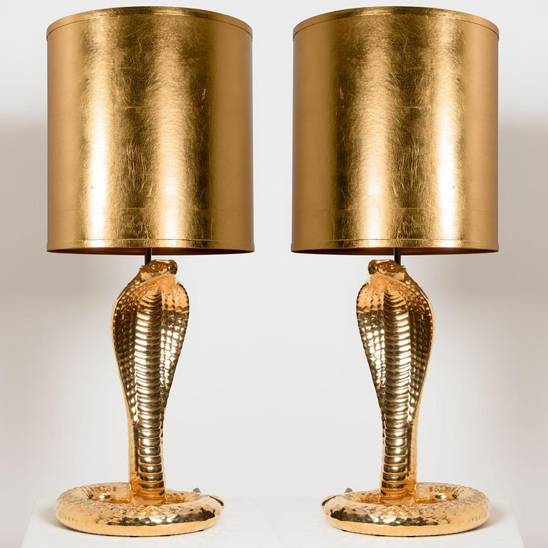 Mid-Century Modern Set of 2 Table Lamps
