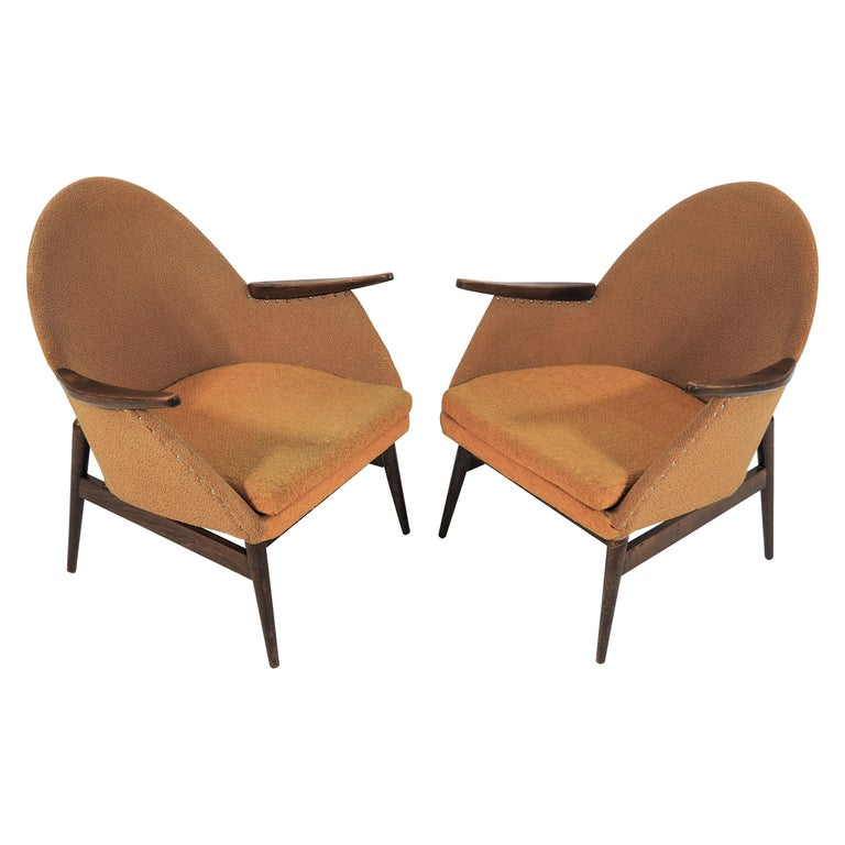 Set of 2 Vintage Armchairs, 1970s For Sale at 1stdibs