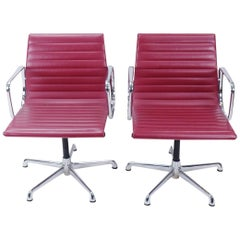 Set of 2, Vintage Eames EA108 Chairs by ICF