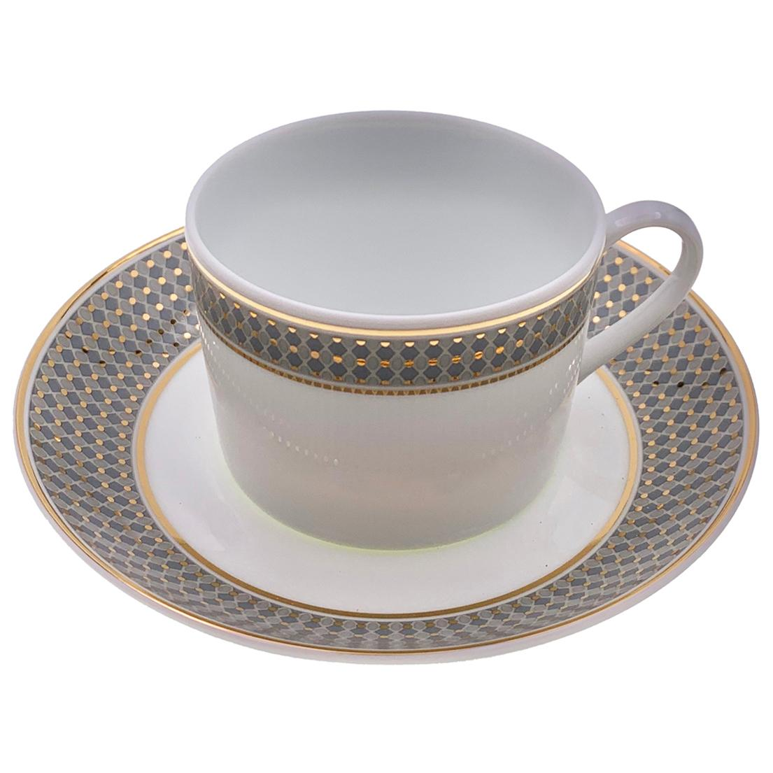 Set of 2 Western Tea Cup with Saucer Modern Vintage André Fu Living Tableware