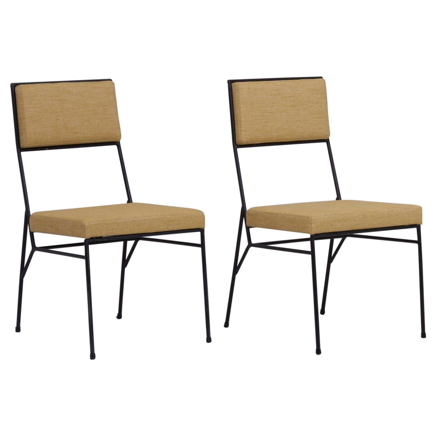 Set of 2 Wrought Iron Chairs by Paul McCobb for Arbuck, 1950s, US