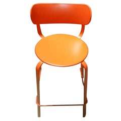 Set of Sixteen LaPalma  Orange Stools
