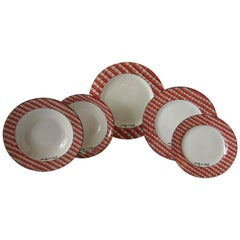 """Set of 24 Place Settings of Andy Warhol """"100 Cans"""" Dinnerware"""