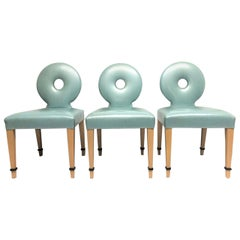 Set of 3 Art Deco Chairs