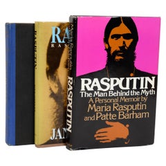 "Set of 3 Books on Grigory Efimovitch ""Rasputin,"" First Edition"