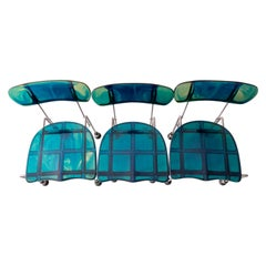 Set of 3 Broadway Chairs by Gaetano Pesce for Bernini, Italy, 1993