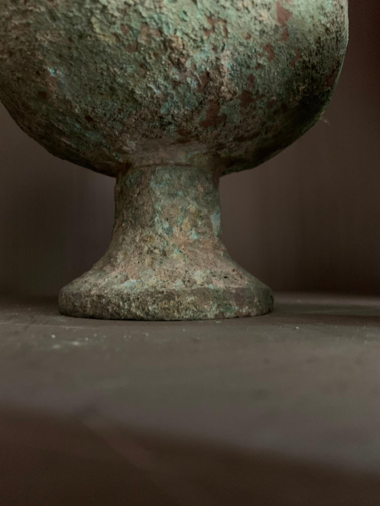 Set of 3 Chinese Bronze Ritual Cups For Sale 5