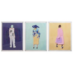 Set of 3 Contemporary Photographic Assemblage Prints, May Lin Le Goff, Ed. 1of 8
