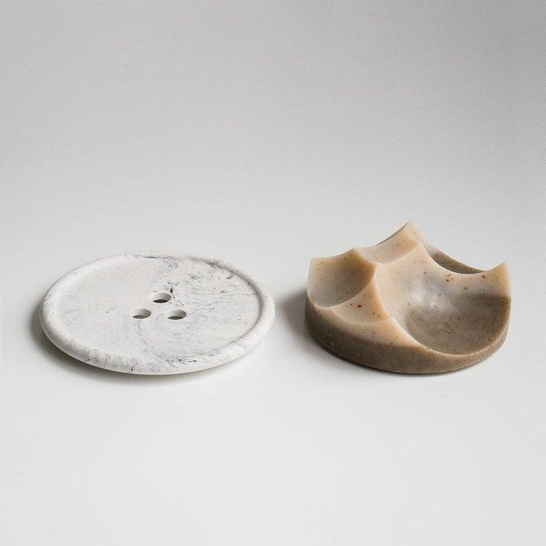 Set of 3 Soap, Detox, Linden, Cardamom Vetiver, Erode Soap by UMÉ Studio For Sale 12