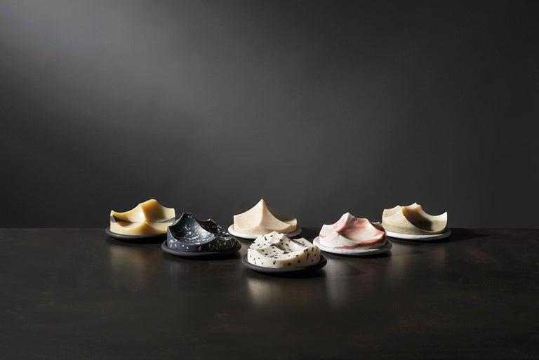 Set of 3 Soap, Detox, Linden, Cardamom Vetiver, Erode Soap by UMÉ Studio For Sale 1