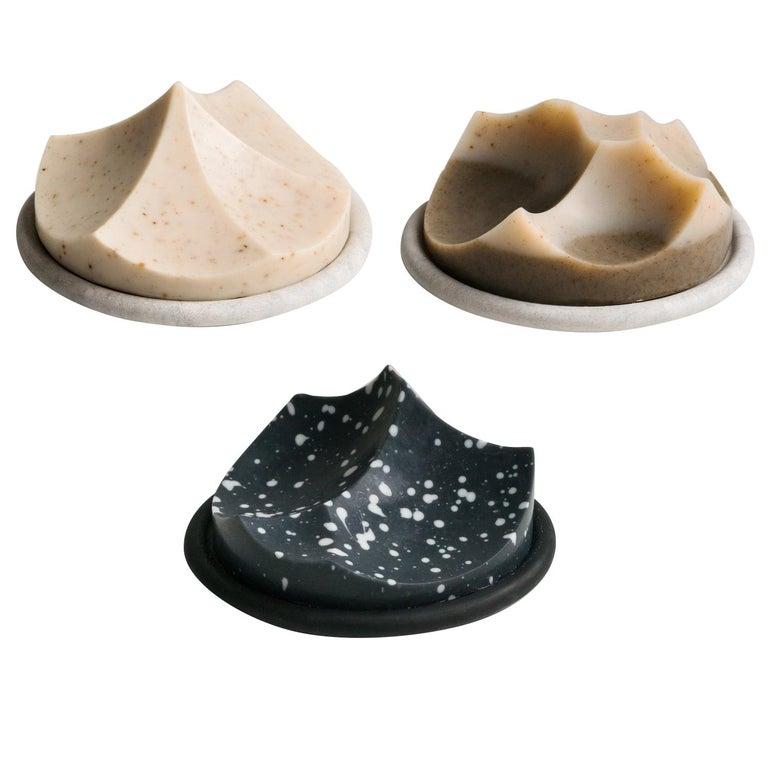 Set of 3 Soap, Detox, Linden, Cardamom Vetiver, Erode Soap by UMÉ Studio For Sale