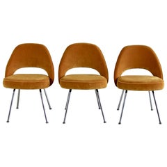 Set of 3 Eero Saarinen Conference Chairs, Knoll International