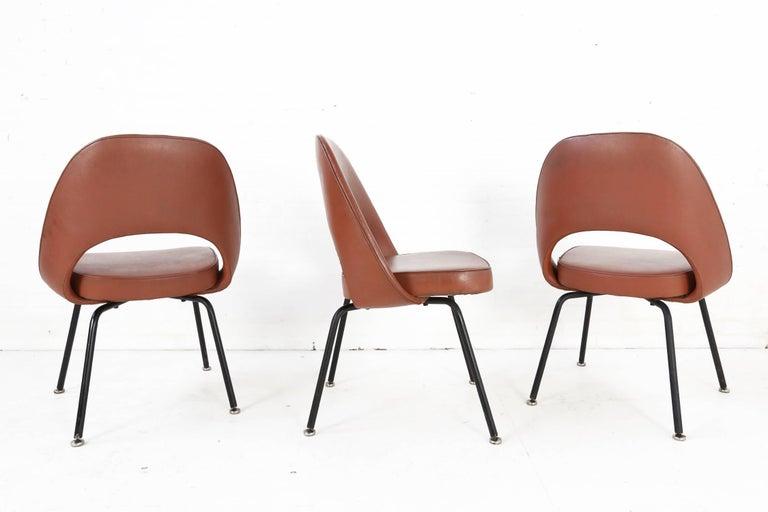 American Set of Two Eero Saarinen Series 71 Armless Chair for Knoll, 1960s De Coene