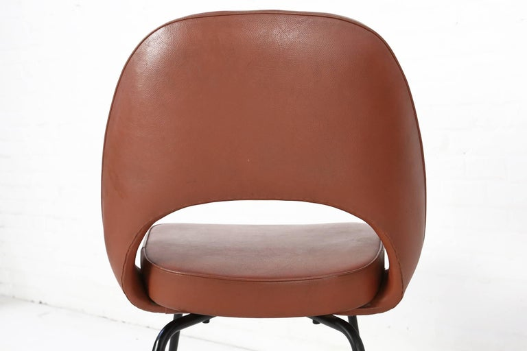 Set of Two Eero Saarinen Series 71 Armless Chair for Knoll, 1960s De Coene In Good Condition In Ghent, BE