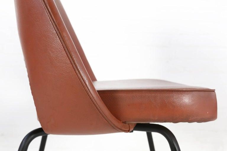 Mid-20th Century Set of Two Eero Saarinen Series 71 Armless Chair for Knoll, 1960s De Coene