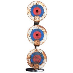 Set of 3 English Fairground Shooting Targets