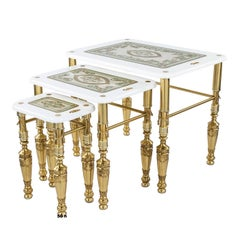 Set of Three Florence Side Tables