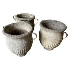 Set of 3 French Mid-20th Century Jardinieres