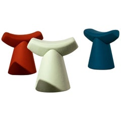 Set of 3 Gardian Stool by Patrick Norguet