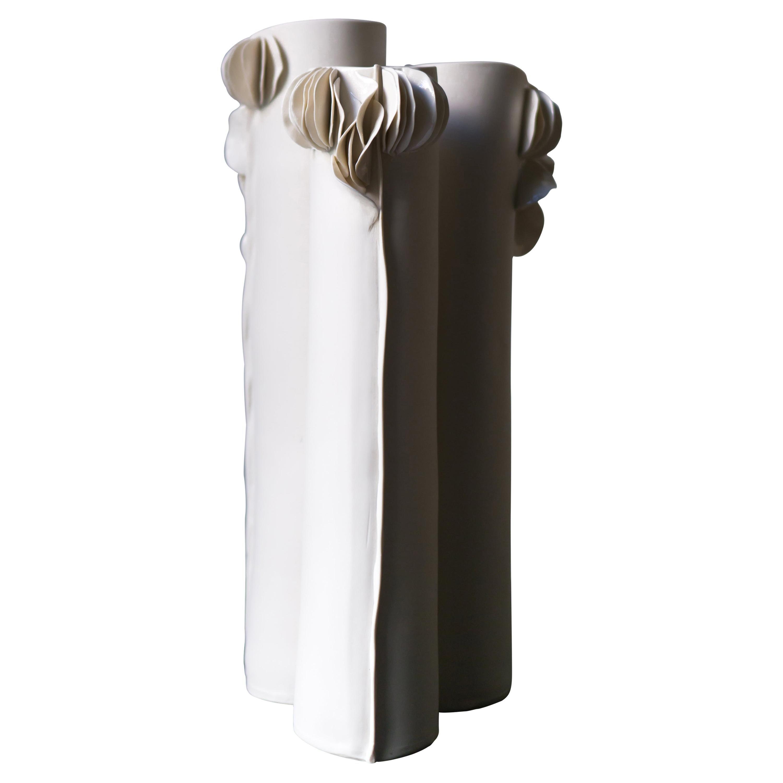 Set of 3 I Giunchi Vases by Biancodichina