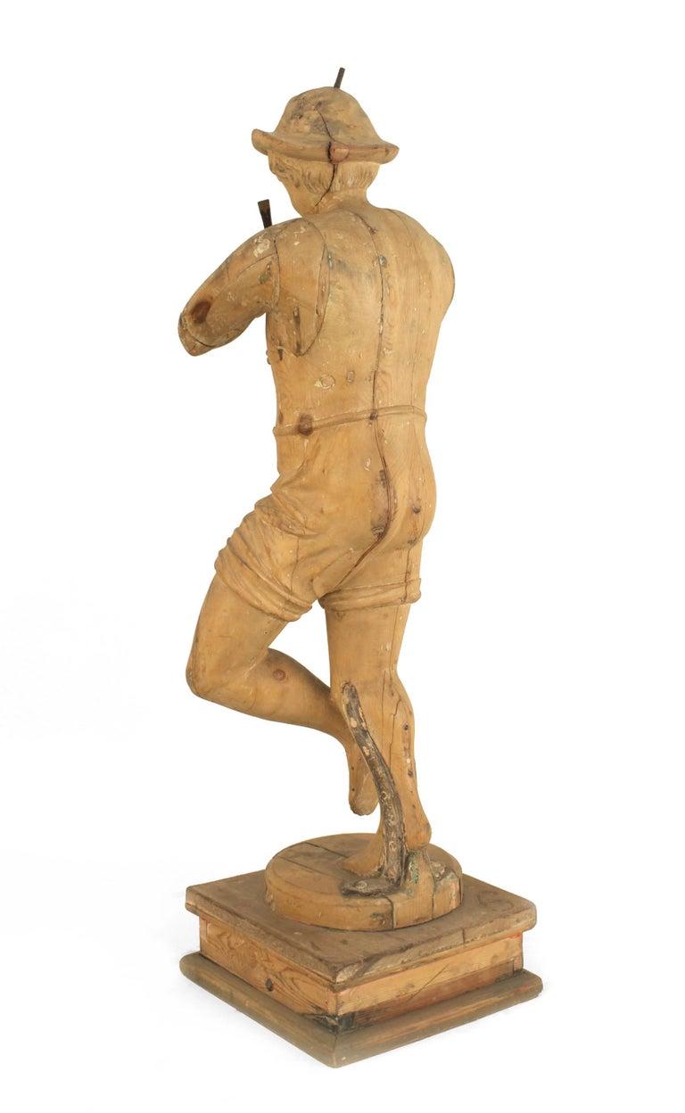 Set of 3 Italian Renaissance Musical Figures For Sale 5