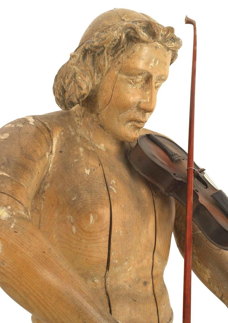 Set of 3 Italian Renaissance Musical Figures For Sale 7