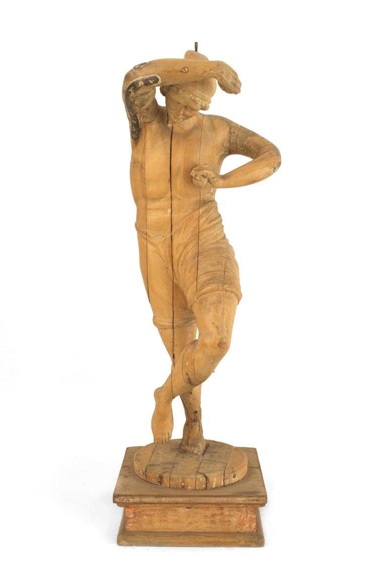 19th Century Set of 3 Italian Renaissance Musical Figures For Sale