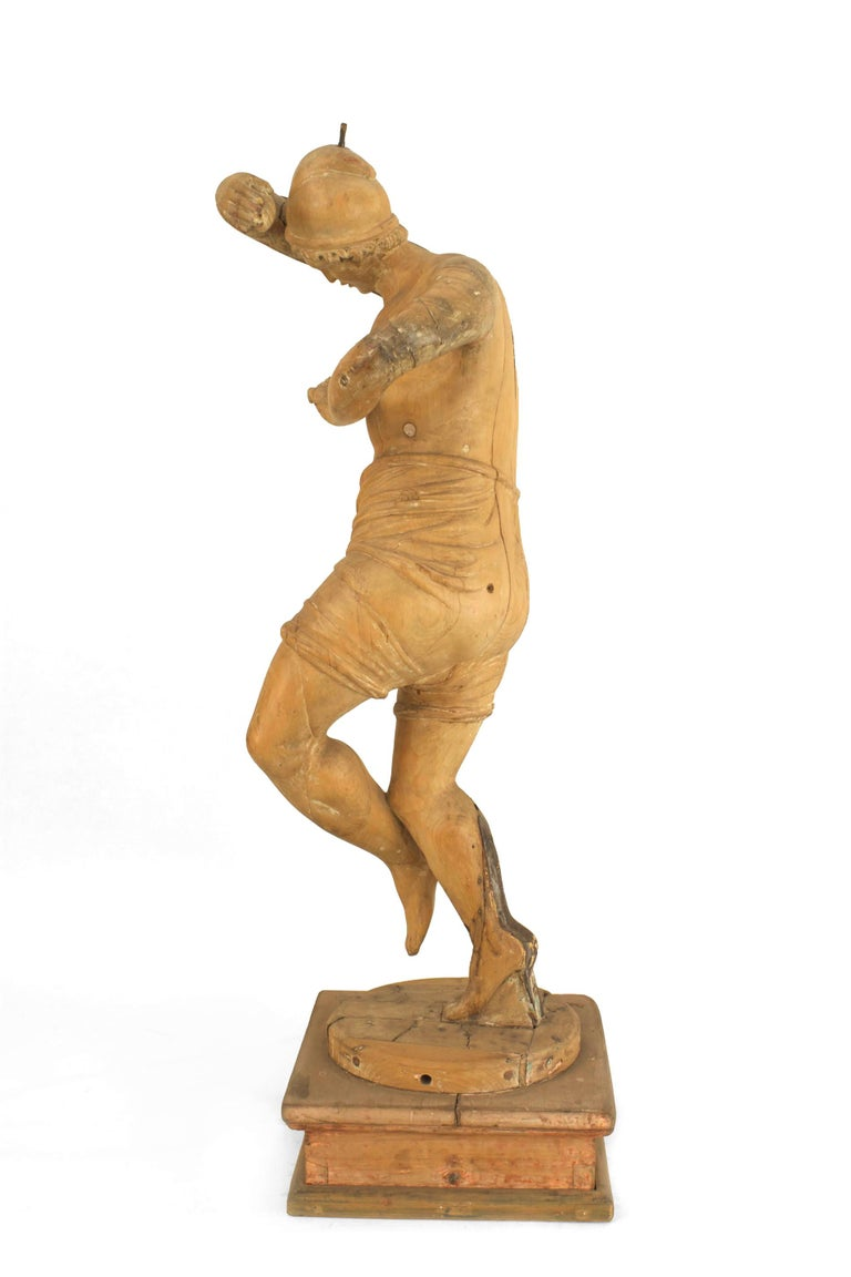 Set of 3 Italian Renaissance Musical Figures For Sale 1