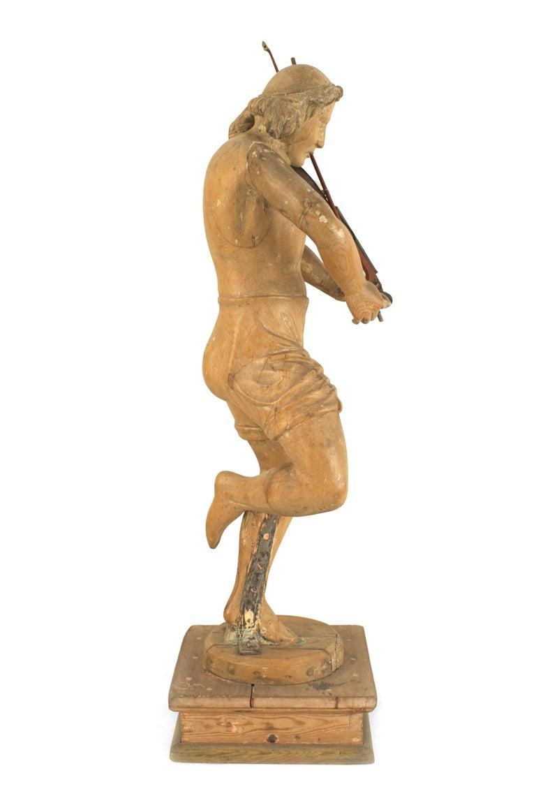 Set of 3 Italian Renaissance Musical Figures For Sale 2