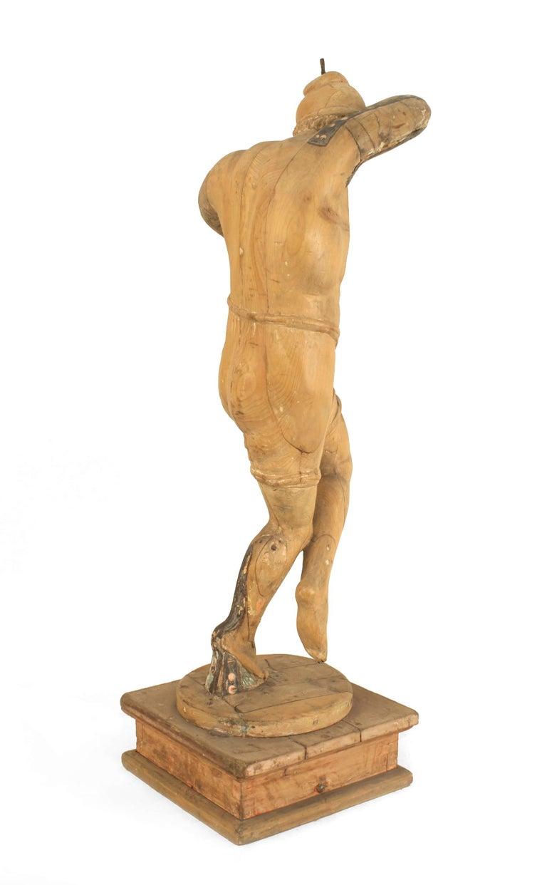 Set of 3 Italian Renaissance Musical Figures For Sale 3