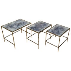 Set of 3 Maison Baguès Nesting Table