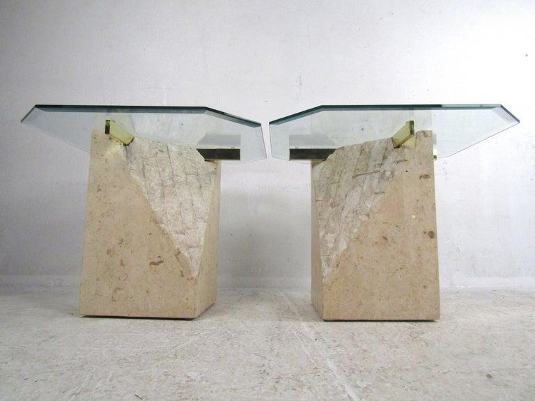 Set of 3 Midcentury Artedi Style Tables 4