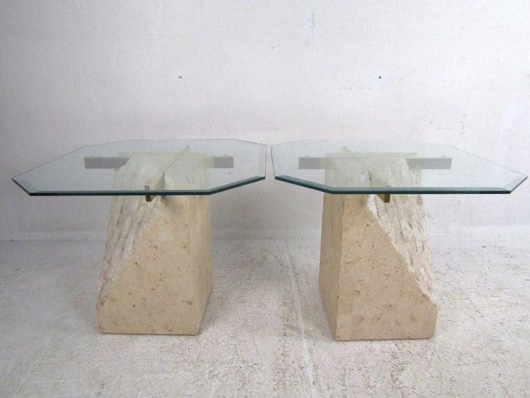 Set of 3 Midcentury Artedi Style Tables 5