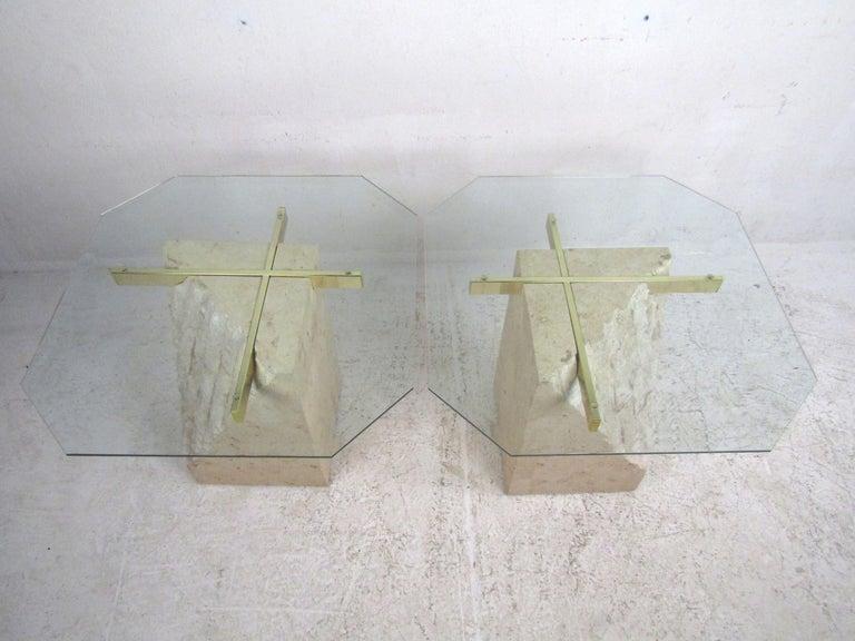 Set of 3 Midcentury Artedi Style Tables 6