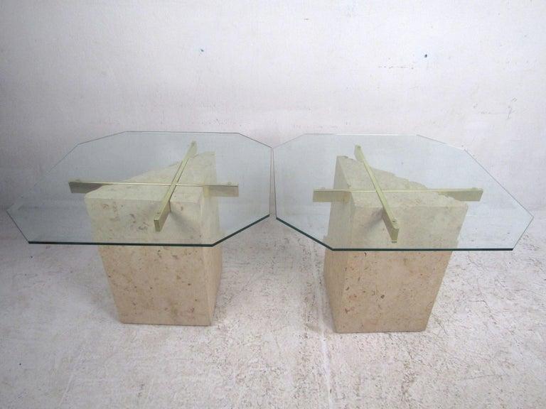 Set of 3 Midcentury Artedi Style Tables 7