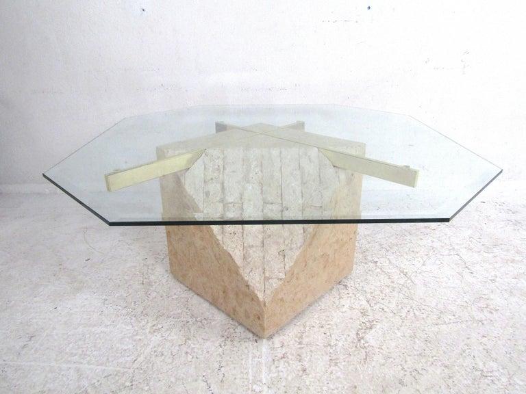 Mid-Century Modern Set of 3 Midcentury Artedi Style Tables