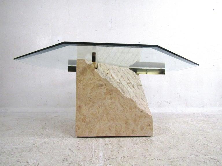 20th Century Set of 3 Midcentury Artedi Style Tables